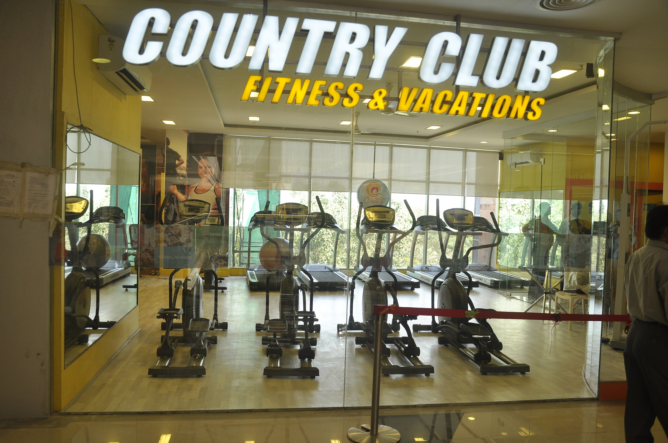 Country Club Fitness LLC in <br/>Madina Mall